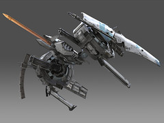 'Ikaruga' 03 (Number 28) Tags: 3d model fighter treasure maya iain s