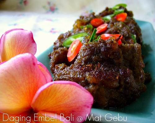 Daging Embel Bali