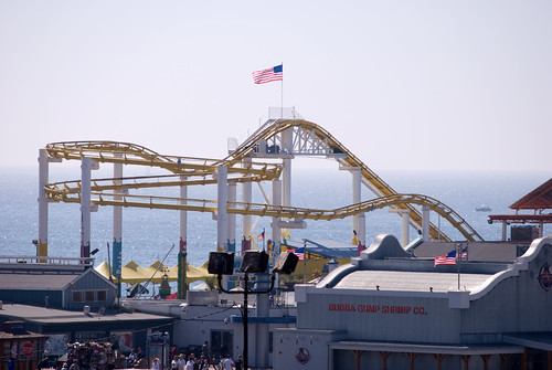 Santa Monica Pier and Beach 47