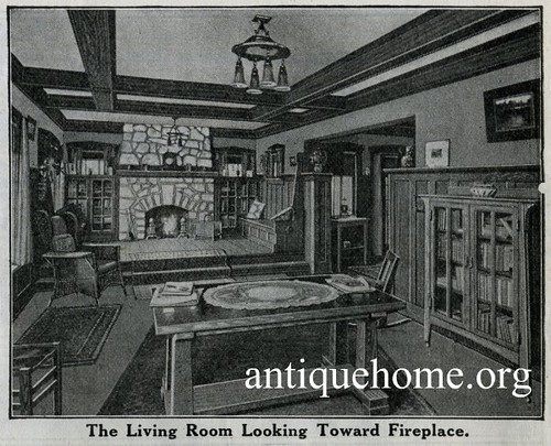 Authentic Vintage Home Plans - Original Cottage House Plans