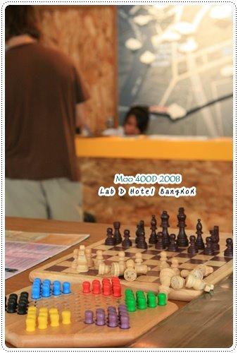 Lub d Hotel-大廳(下棋)