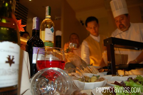 Wine and Raclette Buffet