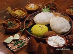 Bengali-Food (Creative IRIS) Tags: food cuisine thali luchi bhaat bengali mishti jamai khabar mangsho macch shosti