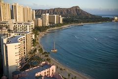 Waikiki from the Hanohano Room