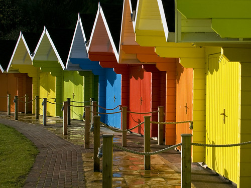 Scarborough Beach Huts by moggsterb