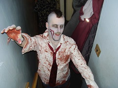 aaaaaaagh (the_dan) Tags: halloween mike grey blood zombie attack makeup gore kelly undead mohican sallow