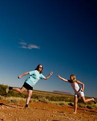 Rare Australian Double Phoon (nosha) Tags: blue sky cloud mountain nature beautiful beauty rock nikon mt oz vivid australia 2008 skyblue phoon connell d300 phooning cqw nosha femmemakita australia2008 mountconnell mtconnell