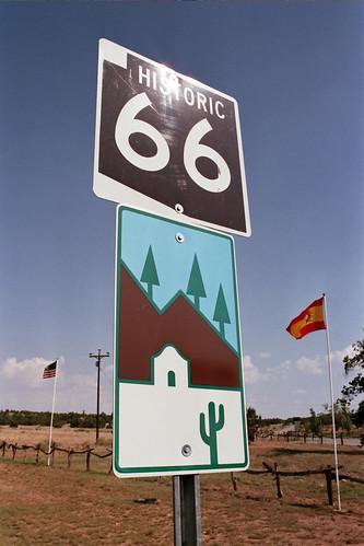 Señalización de la Historic Route 66