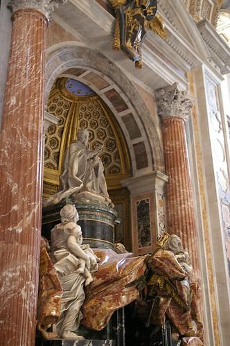 梵蒂岡教堂內一景