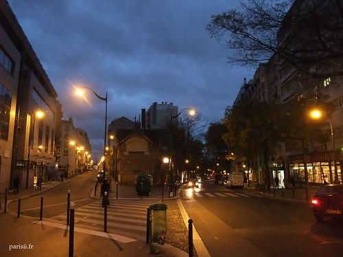 rue Stendhal et rue des Pyrénées