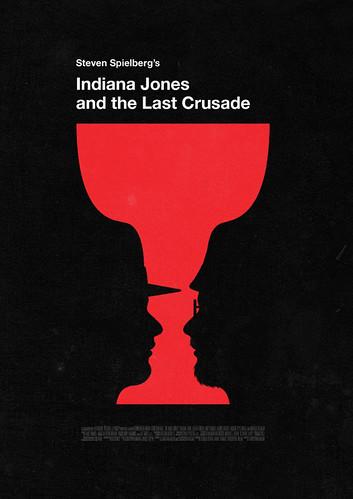 poster arte película Indiana Jones y la Última Cruzada