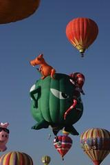 Monstro Verde Volador