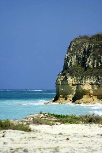 a cliff at Kaliantan