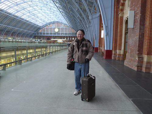 Dad in London - Fresh off the Plane