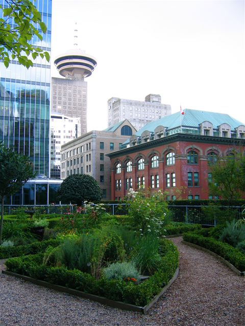 roof garden of the fairmont hotel