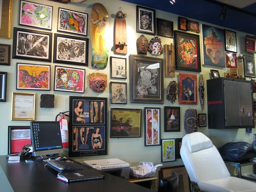 Ignition Tattoo Shop. ToyBaroness