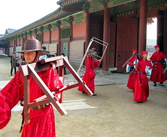 That's All, Folks! (Sanctu) Tags: show morning traditional courtyard palace korea seoul actor historical southkorea performer reenactment extra royalty royalpalace gyeongbokgung gyeongbokpalace palacegrounds koreanculture