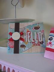 Special Hello Handmade Card (chelstastic) Tags: cute handmade note card kawaii fancy stationery greeting handmadecard papercakes chelseavantol chelsealing