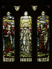 Detail memorial window - Ladbroke