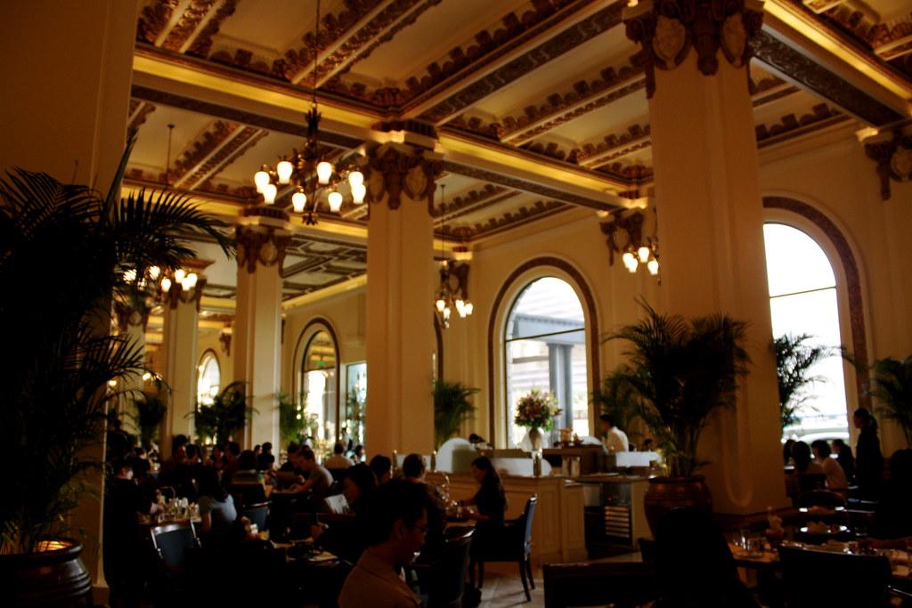 Peninsula Hotel Lobby