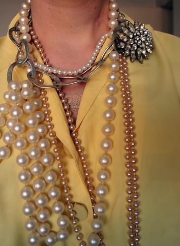 necklaces, detail