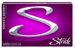 Stride Sweet Berry (Stride Gum) Tags: gum berry long flavor candy sweet pack package stride lasting sweetberry