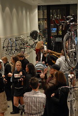 Opening night at Custom Bicycles of Portland-6