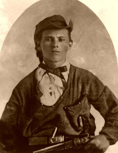 Jesse James, Platte, Missouri, July 1864