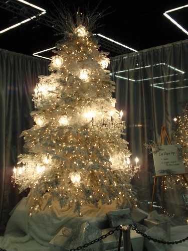 Festival of Trees 7...chandelier Christmas tree - a photo on ...