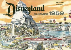 new in 1959 (vonrollskyway1) Tags: vintage lift disneyland matterhorn monorail tramway ropeway 1959 subs skyway seilbahn teleferique vonroll type101 disneylandskyway vr101
