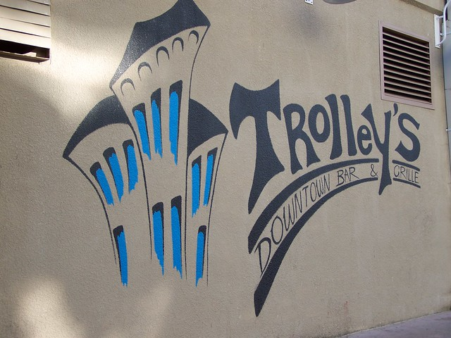 Springfield, Missouri. Trolley's Downtown Bar & Grille
