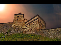 Wisdom of the Walls (Deea) Tags: monument stone landscape evening europe closed sightseeing soul fortress lockdown resistent