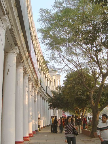An Evening in Connaught Place