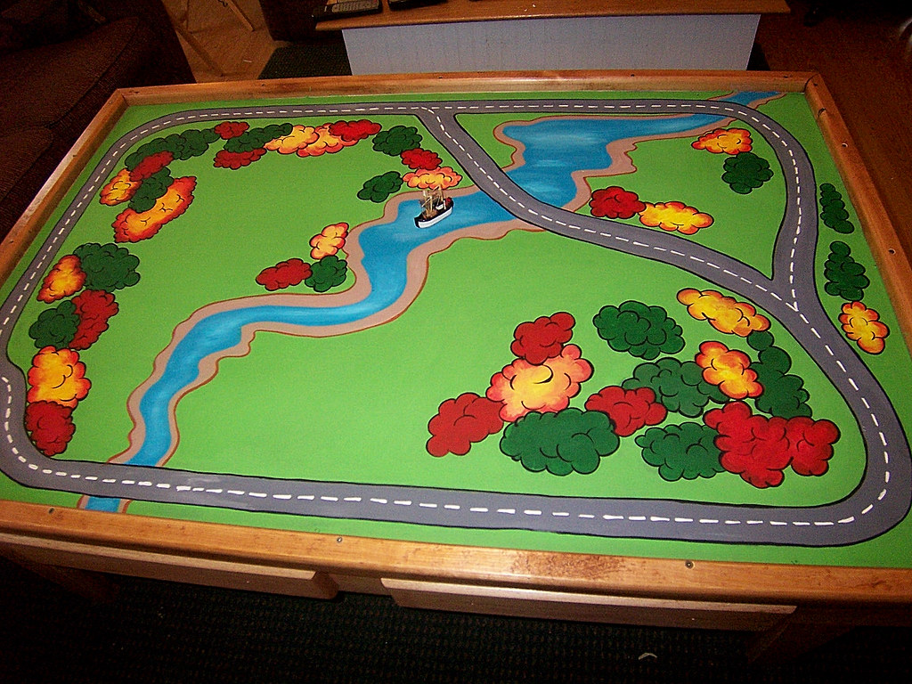 Train Table for Thomas the Tank Engine Cars and Track