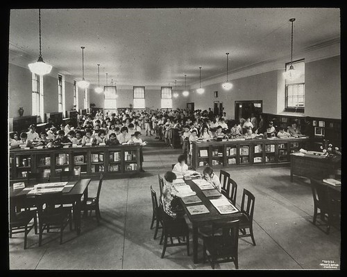 Work with schools : class visit, showing one half of large r...