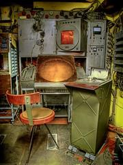 Mobile Radar Station (Batram) Tags: control nuclear system bunker ddr hdr radar atom mfs stasi codename frauenwald batram ministeriumfrstaatssicherheit trachtenfest stasibunker