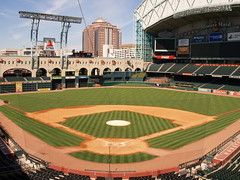 Houston Texas Minute Maid Baseball park 2009 Home of the Houston Astros Union Station  Field Team Downtown P3020632 (mrchriscornwell) Tags: park home field station team downtown texas baseball union houston astros maid 2009 minute