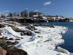 Helsinki in early spring (Andy Siitonen) Tags: winter snow ice island helsinki balticsea iceandwater harakkaisland