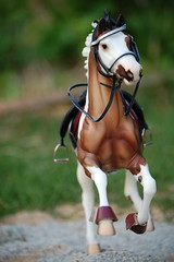 Starbounce (R.C.Moonstruck) Tags: horse detail art beautiful model paint boots head painted traditional headshot bit stallion saddle leathers tack pinto frontview bridle gelding breyer 1354 stirrups traditionalbreyer mongamin starbounce sellefrancias showjumpingwarmblood