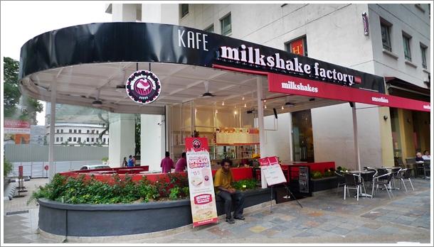Milkshake Factory Cafe @ Jln P Ramlee