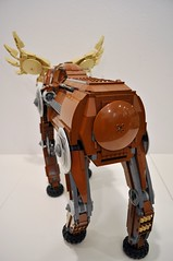 Moose Behind (Doctor Mobius) Tags: animal lego moose walker mecha mech moc warbeast warbeasts