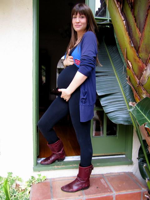 nineteen-weeks pregnant