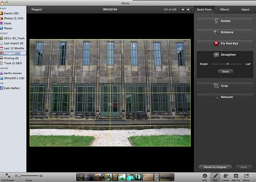57 12 Straightening and perspective correction in architectural