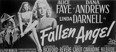posterlong otto preminger fallen angel dvd review