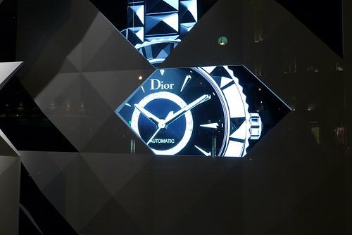 Vitrines Dior - Paris, juin 2011