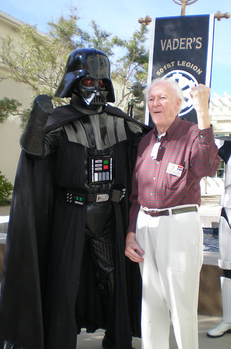 Vader and Ralph McQuarrie