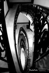 Spiral Therapy #3 (FedeFido) Tags: rome roma scale stairs spiral steps scala escada espiral escalier escaleras spirale spiralstairs chiocciola colimacon scalaachiocciola fedefido