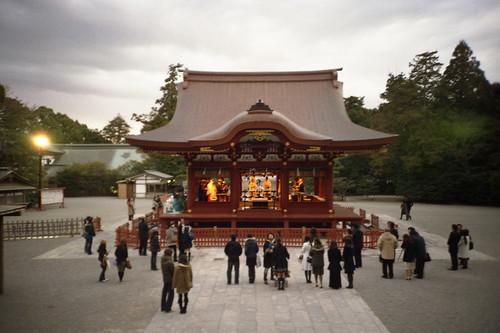 結婚式 at 鶴岡八幡宮