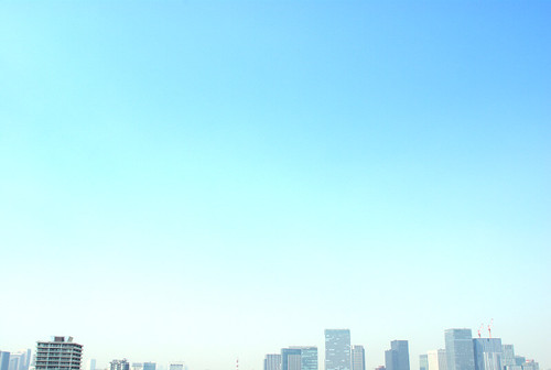 Tokyo sring sky