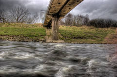 HDR River & Bridge